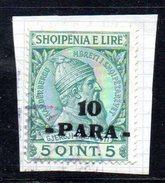 XP2598 - ALBANIA 1914 , Michel N. 42 Usato  Skandenberg - Albania