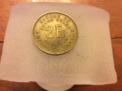 2 Francs Congo Belge 1946 - Congo (Belgian) & Ruanda-Urundi