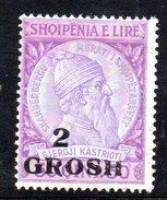 XP2602 - ALBANIA 1914 , Michel N. 45 *  Skandenberg - Albania