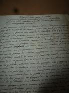 Années 1800 REMEDE Tonique Contre (Pleurésie,Fluxion De Poitrine,Point De Coté,Maladie Par Transpiration Interceptée) - Manuscripts
