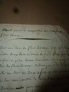 Années 1800 RECETTE Pour La Composition Du RATAFIA De FLEURS D'ORANGE. - Manuscrits