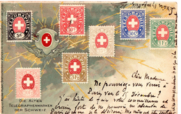 Collection De Timbres Suisse 1905 - Stamps (pictures)