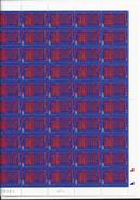 Feuille De 50 Timbres Du N° 3132, Assemblée Nationale. - Feuilles Complètes