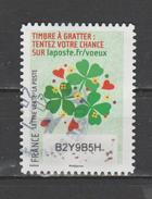"""FRANCE / 2016 / Y&T N° AA 1346 : """"Vœux à Gratter"""" (Trèfles, Cœurs...) - Choisi - Cachet Rond - Frankreich"""