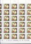Feuille De 30 Timbres Du N° 3146, Eugène Delacroix. - Feuilles Complètes