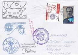 TAAF - Mission Marion Dufresne - Courrier Refusé - Finlande - Expediciones árticas