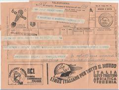 TELEGRAMMA 1939 CON PUBBLICITA' (D147 - Old Paper