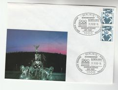 1992   GERMANY BERLIN  OLYMPIC EVENT  COVER Olympics Games Sport Stamps - Summer 1936: Berlin