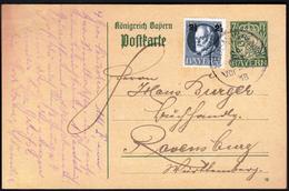Germany Bavaria Bayern 1918 / Postal Stationery - Bavaria