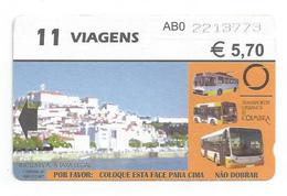 SMTUC Coimbra Portugal   Travel Ticket - Europa