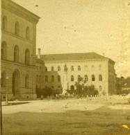 Suisse Berne Le Palais Fédéral Ancienne Photo Stereo 1875 - Photos Stéréoscopiques