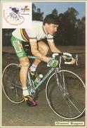 70/FG/17 - SPORT - CICLISMO: GIANNI BUGNO (Campione Del Mondo Con Autografo Originale) - Ciclismo