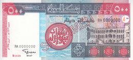 SUDAN 500 DINARS 1998 P-58a SPECIMEN UNC */* - Sudan