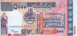 SUDAN 5000 DINARS 2002 P-63 SPECIMEN UNC */* - Sudan
