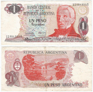 Argentina 1 Peso 1983-84 Pick 311.a.1 Ref 34 - Argentina