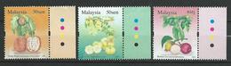 Malaysia 2006 Fruits.MNH - Malaysia (1964-...)