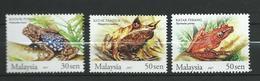 Malaysia 2007 Frogs Of Malaysia.Amphibians.Frogs & Toads.MNH - Malaysia (1964-...)
