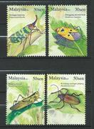 Malaysia 2007 Insects.MNH - Malaysia (1964-...)