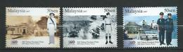 Malaysia 2007 The 200th Anniversary Of The Police Force.cars.motocycling.MNH - Malaysia (1964-...)
