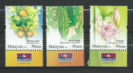Malaysia 2007 Rare Vegetables.MNH - Malaysia (1964-...)