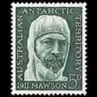 A.A.T.. 1961 - Scott# L7 Mawson Exped. Set Of 1 LH - Australian Antarctic Territory (AAT)