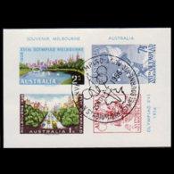 AUSTRALIA 1956 - Scott# 291A Sheet-Olympics MNH - Mint Stamps