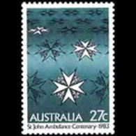AUSTRALIA 1983 - Scott# 871 St.John Ambulance Set Of 1 MNH - 1980-89 Elizabeth II