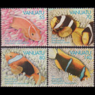 VANUATU 1994 - Scott# 637-40 Anemonefish Set Of 4 MNH - Vanuatu (1980-...)