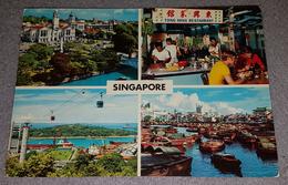SINGAPORE- COLLAGE POSTCARD - Singapore