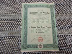 L'AUTODROME DE MIRAMAS (1923) Istres, Bouches Du Rhone - Unclassified