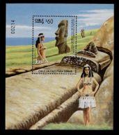 Chile 719a MNH Moai Statues, Easter Islands - Cile