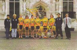 CYCLISME - WIELRENNEN : Team VLAANDEREN 2002 - T-interim - RDM - Cyclisme