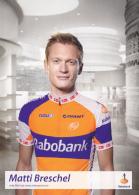 CYCLISME - WIELRENNEN : RABOBANK - MATTI BRESCHEL - Cycling