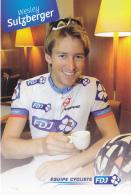 CYCLISME - WIELRENNEN : FDJ - WESLEY SULZBERGER - Cyclisme