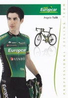 CYCLISME - WIELRENNEN : EUROPCAR -  ANGELO TULIK - Cyclisme