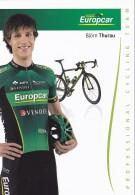 CYCLISME - WIELRENNEN : EUROPCAR -  BJÖRN THURAU - Cycling