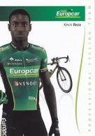 CYCLISME - WIELRENNEN : EUROPCAR - KEVIN REZA - Cyclisme