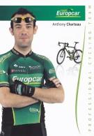 CYCLISME - WIELRENNEN : EUROPCAR - ANTHONY CHARTEAU - Cycling