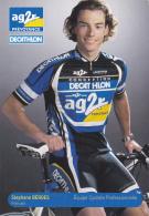 CYCLISME - WIELRENNEN : AG2R - STEPHANE BERGES - Cycling