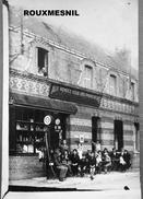 76 - Carte Photo - ROUXMESNIL BOUTEILLES - AUX RENDEZ VOUS DES PROMENEURS - Cafe - Restaurant - Devanture - France
