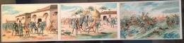 [DC9806] CPA - TRITTICO DI CARTOLINE UNITE - CAVALLERIA - COMITATO REGIONALE PROPAGANDA - Non Viaggiata - Old Postcard - Militari