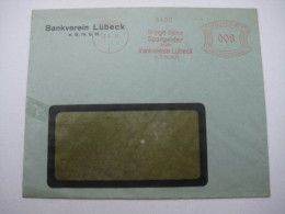 Firmen Freistempel , Meterstempel Auf Beleg Aus   1932 , Lübeck - Briefe U. Dokumente