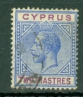 Cyprus: 1912/15   KGV   SG78   2pi     Used - Chypre (...-1960)