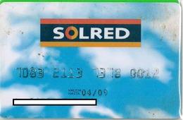 Credit Card - Carte De Credit - SOLRED - Geldkarten (Ablauf Min. 10 Jahre)
