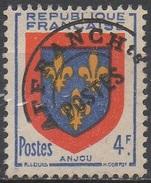 FRANCE  N°105__OBL VOIR SCAN - 1953-1960