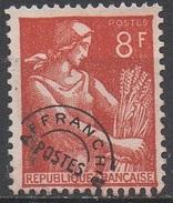 FRANCE  N°108__OBL VOIR SCAN - Precancels