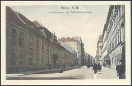 Wien , VIII Laudongasse Mit Schönbornpalais - B K W I 1004 - Voir 2 Scans - Vienne