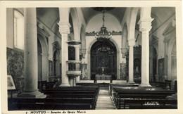 MONTIJO - Interior Da Igreja Matriz - PORTUGAL