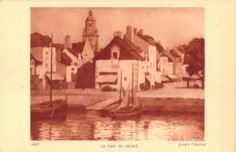 44 LE PORT DU CROISIC PAR JOSEPH CHAULEUR - Le Croisic