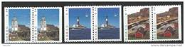 Norvège 1997 Paires N°1211a/1213a Neuves**tourisme - Unused Stamps